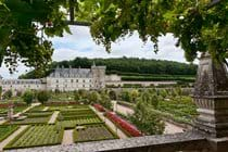 Château Villandry, one of the most beautiful gardens of the Royal Châteaux