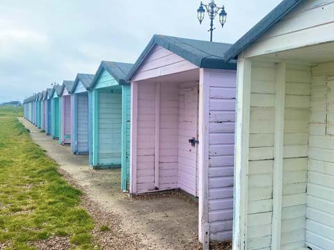 Home from Home Portsmouth - Beach huts on Eastney beach
