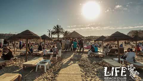 Life Beach Club Carabassi Beach