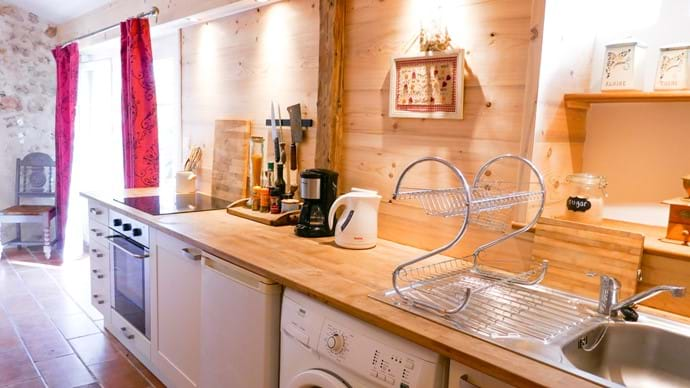 The cabanon kitchen
