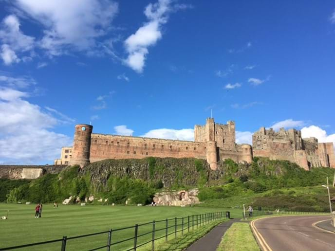 Bamburgh Castle - 50 minutes by car