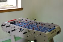 Who is up for a game of foosball in the Games Room?