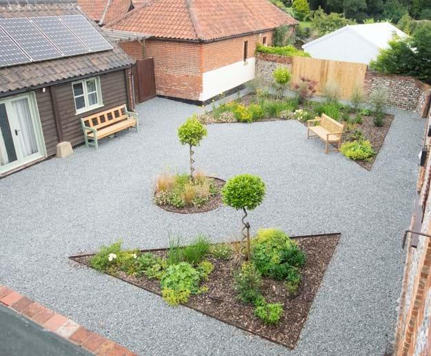 Courtyard garden (communal)