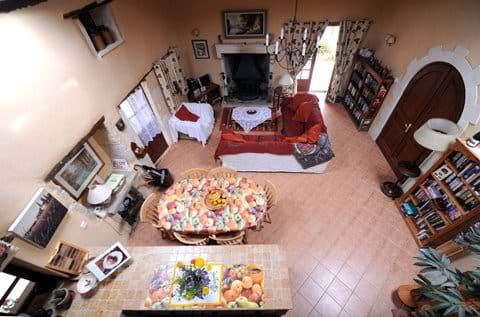 Living Room from the Mezzanine