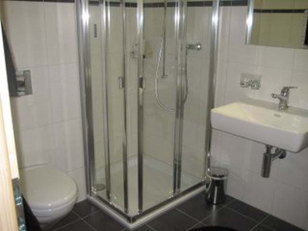 Shower Room serving Third Bedroom (with Washing Machine and Tumble Dryer)