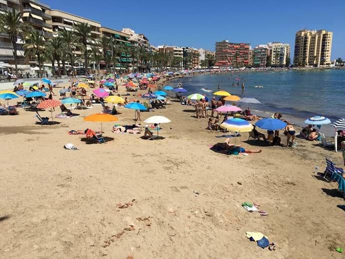 Close to apartment: Playa del Cura