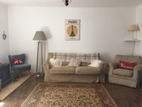 Gite Living Room with Sofa Bed