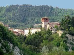 Bubbio village