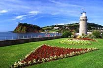 Award winning flower displays and The Lighthouse