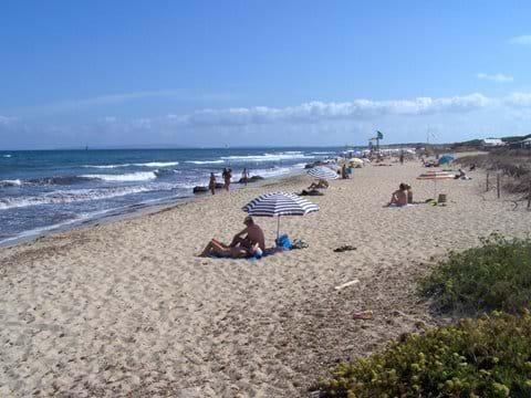 Trendy Es Cavallet beach