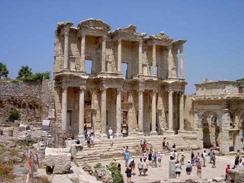 Ephesus : 3 km from Selcuk