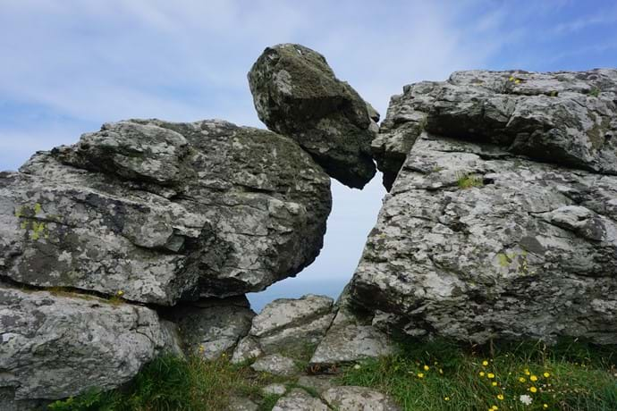 Crazy rock formations