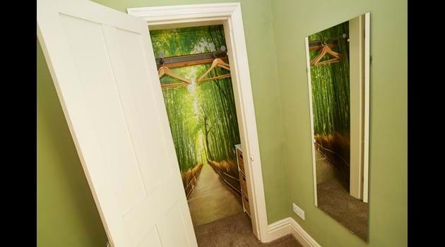 Wardrobe or the path to Narnia?!