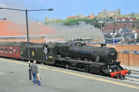 Steam train to Pickering