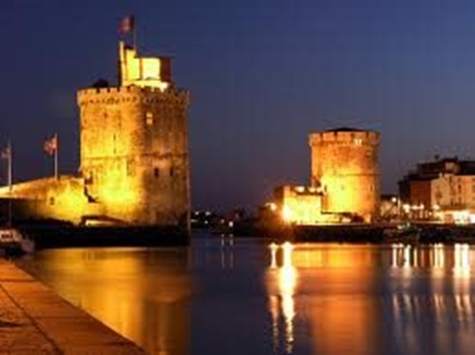 La Rochelle (an hours drive from villa) Split into two parts, the new and old port where you will find a promenade of bars, restaurants and shops.