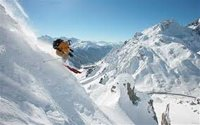 Off-piste skiing for the brave and experienced