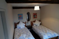 Farmhouse - 1st floor twin bedroom
