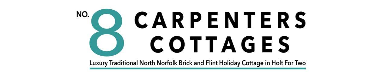 Logo - 8 Carpenters Cottages, Holt, North Norfolk NR25 6SA, tel. 07515 934 478