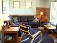 Living Room is well furnished with comfortable furniture