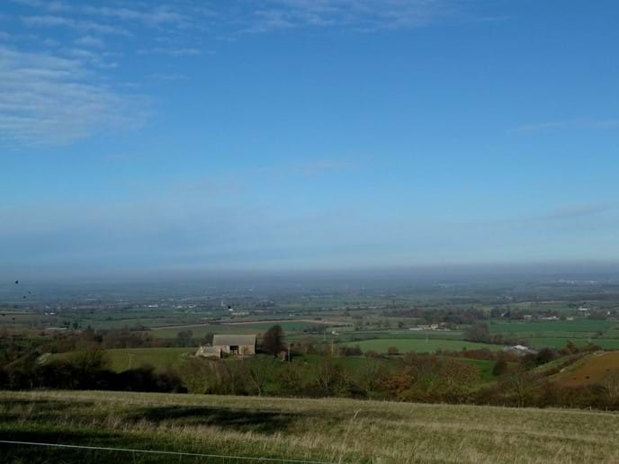View from Ilmington Hill