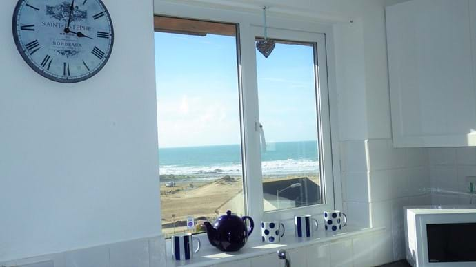 Enjoy the view while you are washing up!