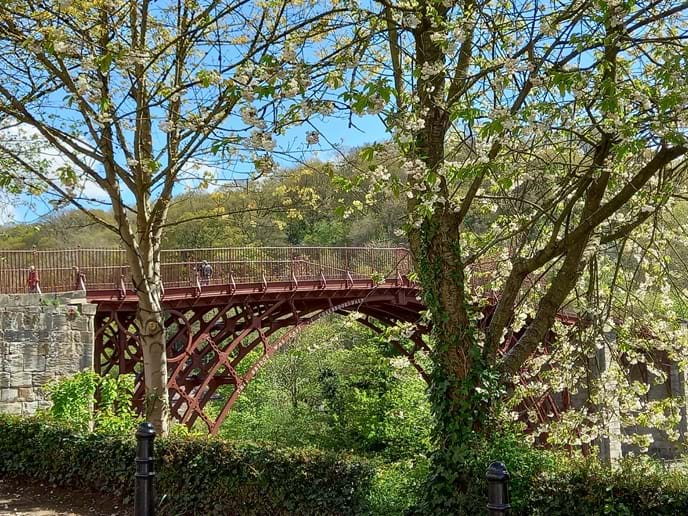 THE IRON BRIDGE IS JUST A STONE