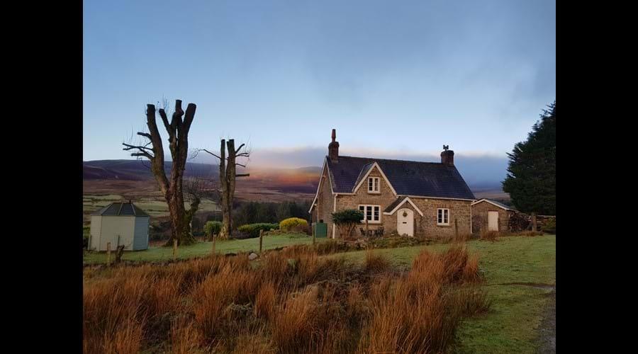 Sunrise at Little Pudding Cottage