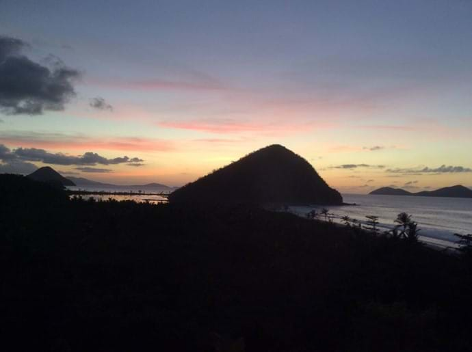 Sugar Loaf at Sunset