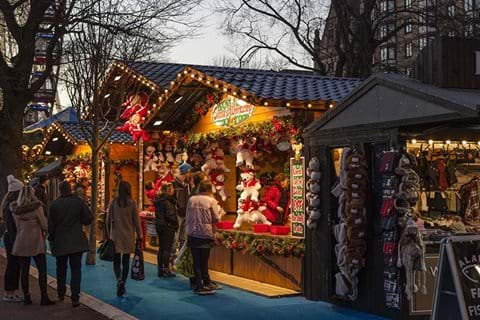 Perigueux Christmas market