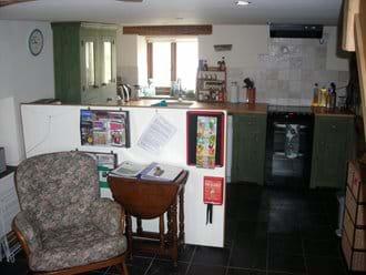 Entance area through to kitchen