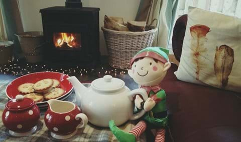 Christmas is a great time for a gettaway, cottages can be booked together if required