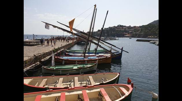 45 minutes from Casa Sola is the pretty town of Collioure, a favourite day out for our guests