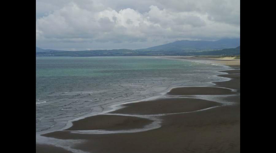 Harlech beach - T Marshall