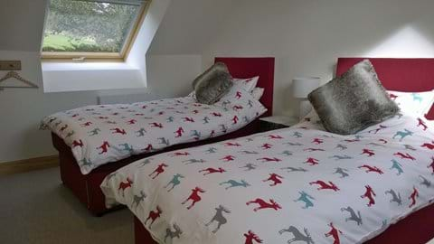 2nd Bedroom set up as twin beds