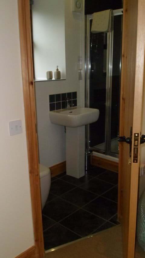Twin - en-suite shower room