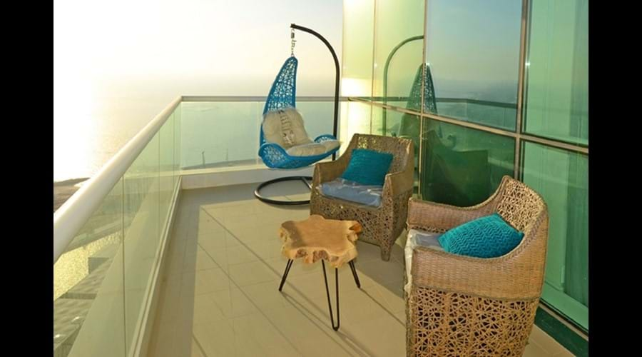 """""""Hanging Chair and furniture side balcony"""""""