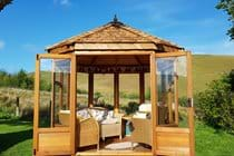 The Summerhouse with 360 degree views!