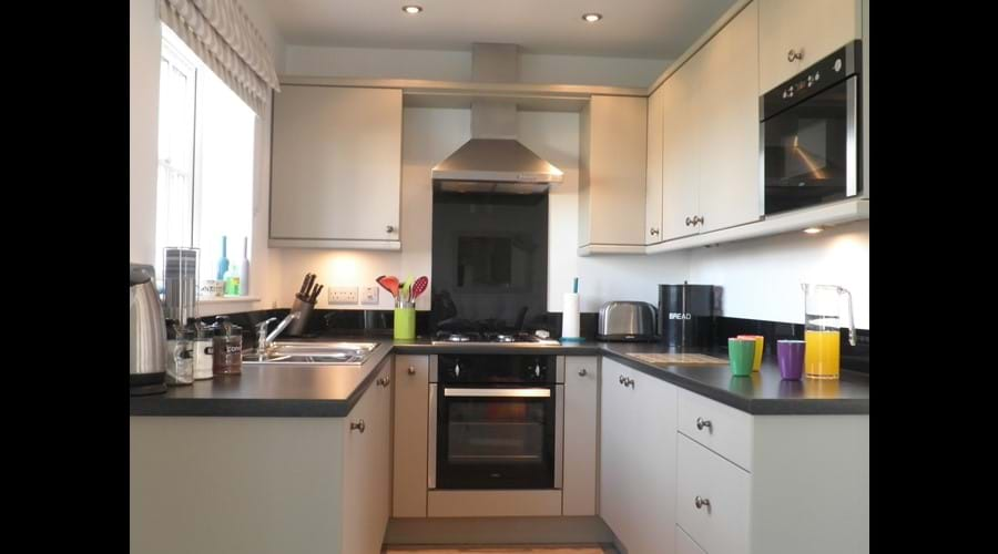 Fully Fitted Kitchen. We've tried to include most things you will need for your stay