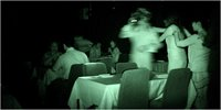 Eating in the dark!
