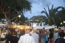 The main square has market nights and much more
