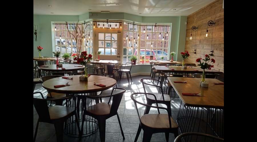 The Bayside Kitchen inside.