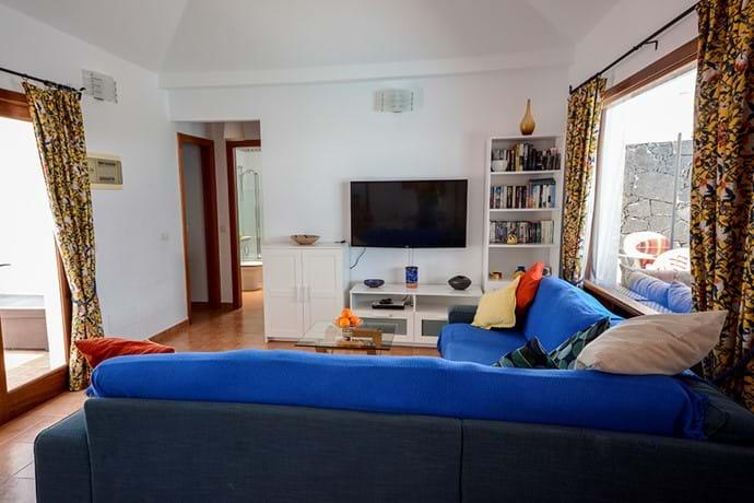 Living Area & doors to Bedrooms 2 & 3