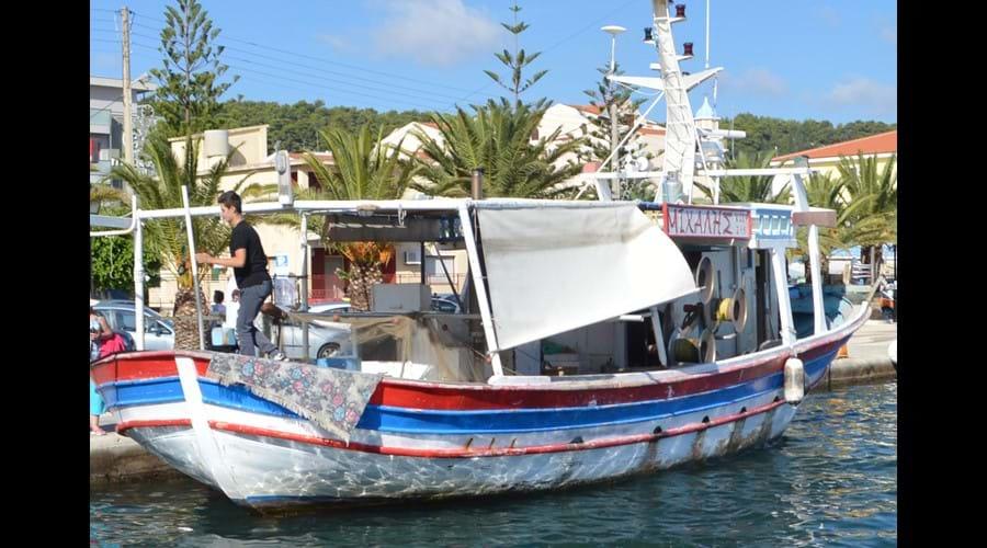 Fishing Boat in Argostoli