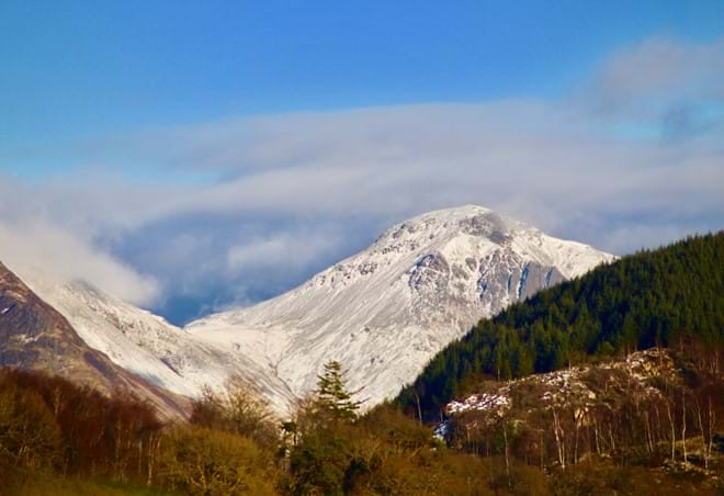 Great Gable in winter