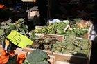 Fresh veg at Ceret Market