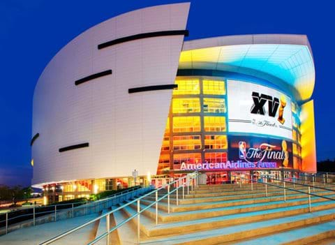 """""""American Airlines Arena Home of Miami Heat"""""""
