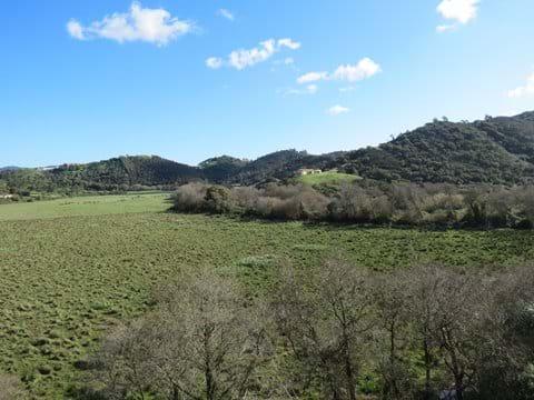 View to Aljezur Castle