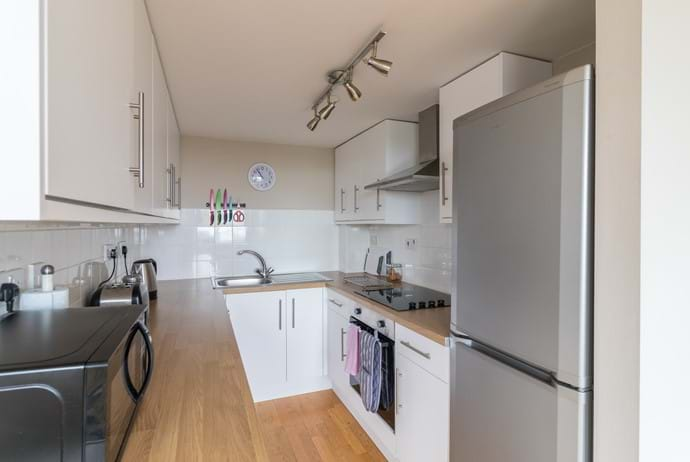 York holiday rental kitchen