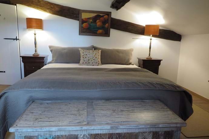 Master bedroom Maison La Busaneth Lot-et-Garonne