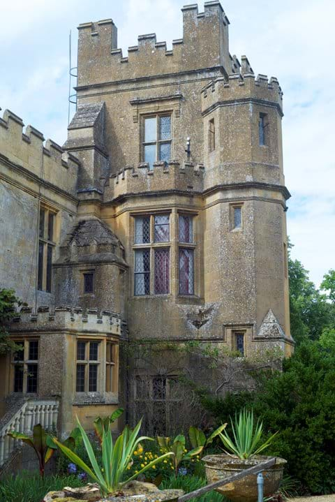 A wing of Sudeley Castle